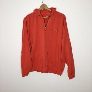 Tommy Bahama quarter zip sweater classic  Size XXL